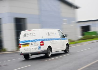 Castlegate Security Van