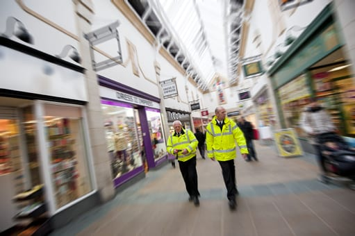 Castlegate Security in St Nics Arcade