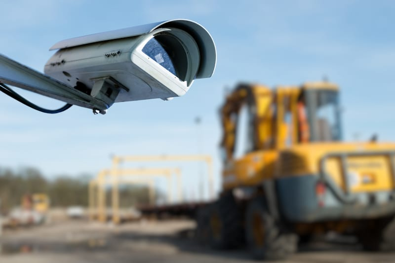 CCTV on Construction Site